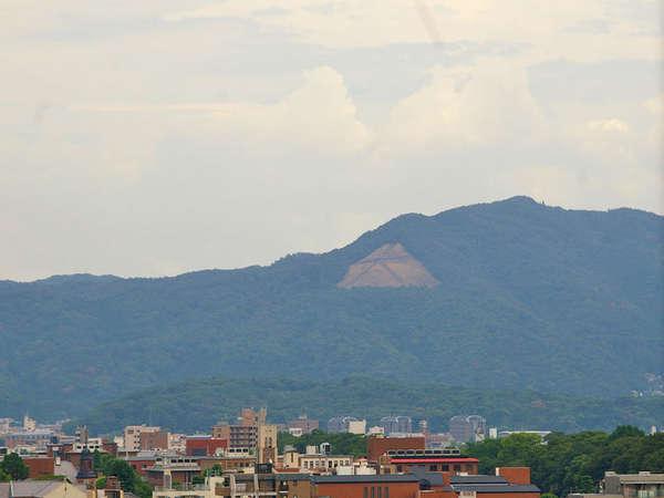 ▲五山送り火▲京都の夏の風物詩♪