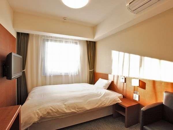 ◆シングルルーム 14平米  ベッドサイズ  195cm×140cm