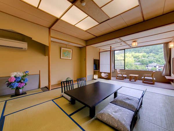 当館一番人気の眺望付和室12.5畳