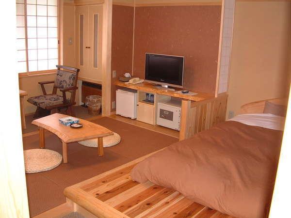 居間・寝室分離の新和洋室
