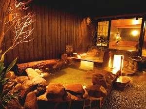 ◆最上階の露天風呂は街中では味わえない雰囲気♪
