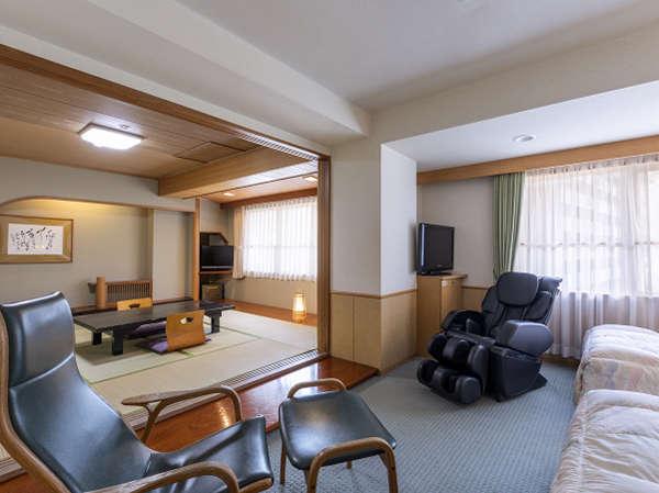 【リラクゼーションルーム】全室マッサージチェアを完備した特別室(禁煙)
