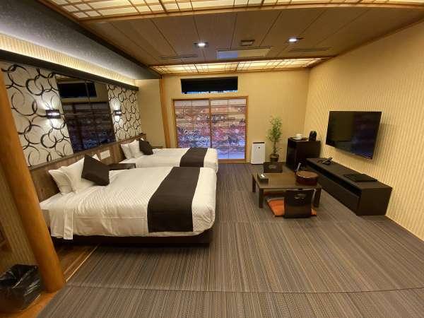 【和美麗】2020年3月にNEWOPEN「和モダン」をテーマに総檜客室露天風呂を備えた新築客室