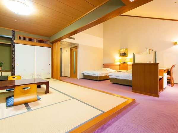 【和洋室デラックス】洋室25㎡+和室10畳のゆったりしたお部屋