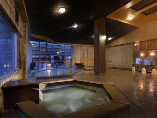 女性用大浴場『静香の湯』。当館の温泉は女性の美肌作りにもオススメしたい名湯です