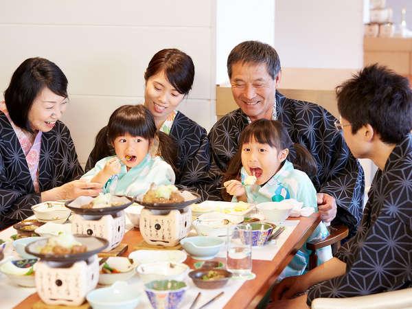 3世代の記念旅行も人気♪お子様連れに嬉しいサービスが充実!