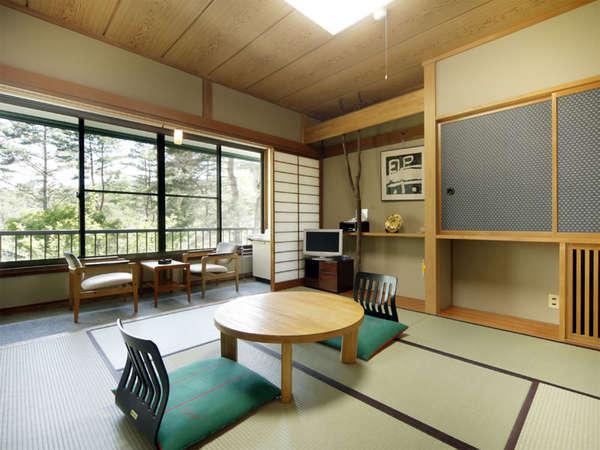 和室8畳(一例)カップル、ご夫婦、グループ、ファミリーにオススメの和室8畳