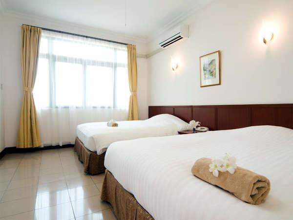 デラックスツインルーム(56㎡)南の島・沖縄のリゾートホテルでリフレッシュ!