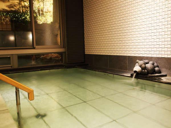 *【大浴場A・自家源泉かけ流し内湯】2ケ所ある大浴場のうちの一つ、夜は女湯・朝は男湯になります。