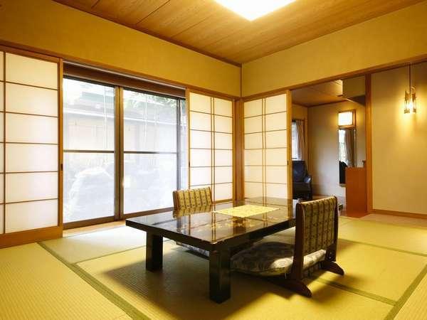「花地蔵庵」の和室。