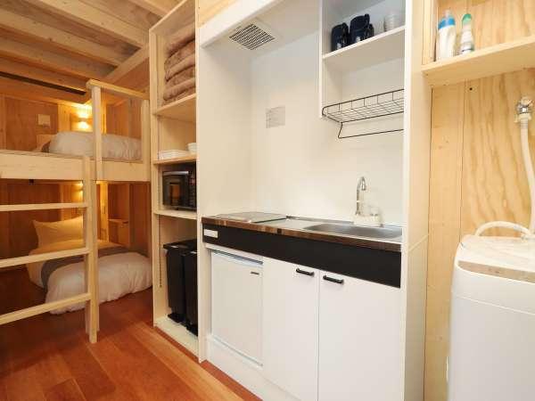 キッチン(全室完備)