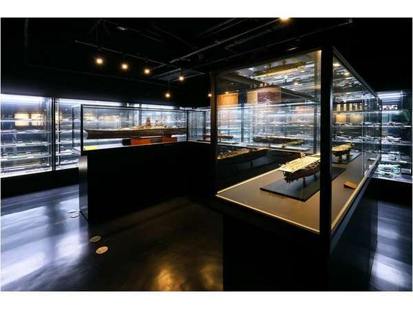 ロビー階奄美戦史模型資料館ご宿泊のお客様は無料でご覧ください