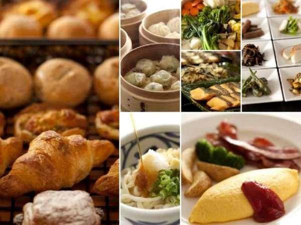 朝食ビュッフェ「SATSUKI」(1階 6:30~10:00)