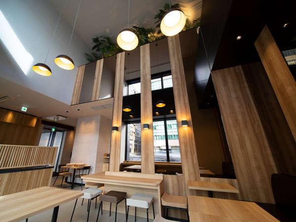 1階ロハスラウンジ◆朝は朝食のご提供場所となります(有料)