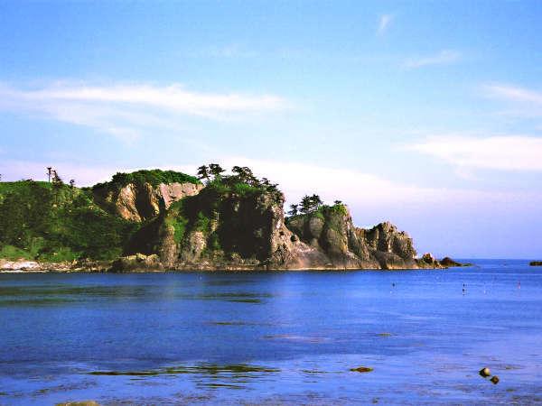 *館山崎の絶景を一望できます。
