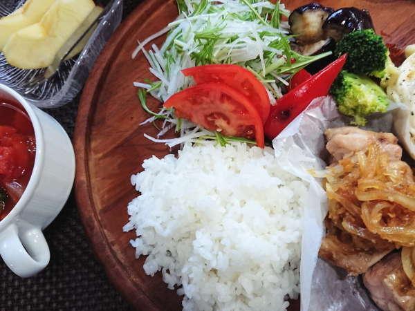 夕食ワンプレートタイプ(大人、小学生)