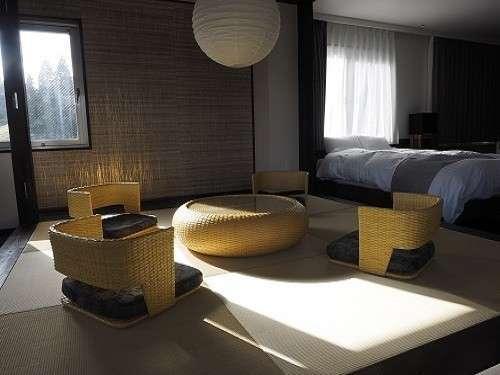 【雪の雫】最上階に1室のみの贅沢で広々としたスウィートルーム。