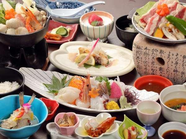 【セイコーグランドホテル】湯量豊富な温泉と日本海の旬の海幸をお楽しみ下さい!