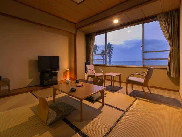 【和室】錦江湾と桜島を望みながら