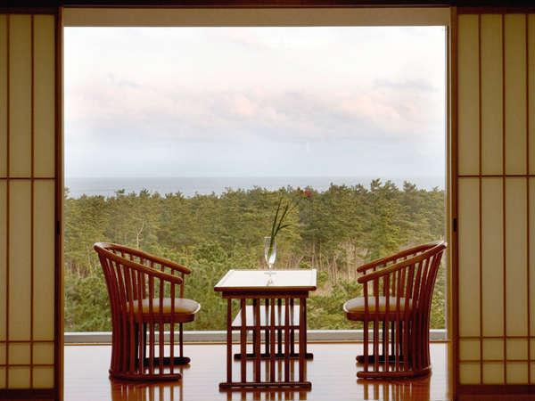 お部屋からの景色を眺めてぼんやりと過ごすのもまた贅沢!