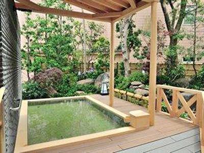 【露天風呂】九十九里の心地良い潮風・波音を感じながら、湯浴みをお楽しみ下さい♪
