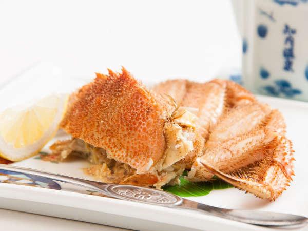 *【お食事一例】毛蟹のボイル(半身)