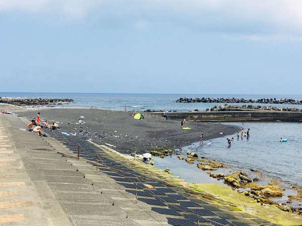 *【底土海水浴場】透明度の高い八丈ブルーの海を思いっきりたのしみましょう★