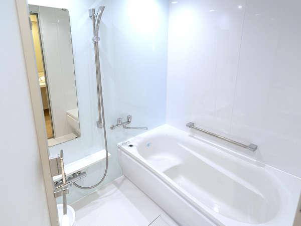 30平米タイプのお部屋のバスルーム 洗い場付きの広いお風呂