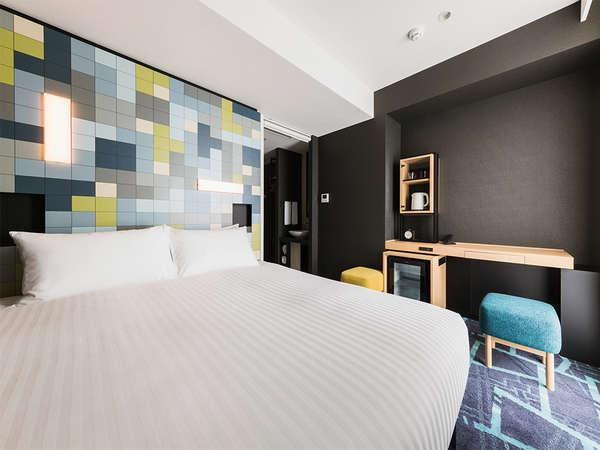 【客室】スーペリア・部屋広さ…17㎡・ベッド幅…160cm