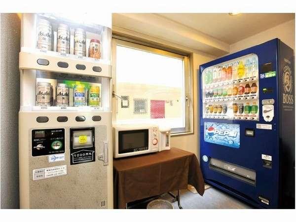 2階 自動販売機コーナー