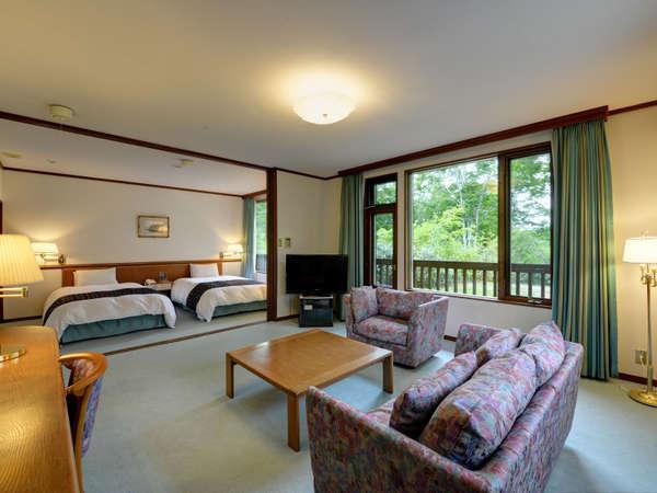 *【特別室(一例)】最高の休日にピッタリのベッドルーム。
