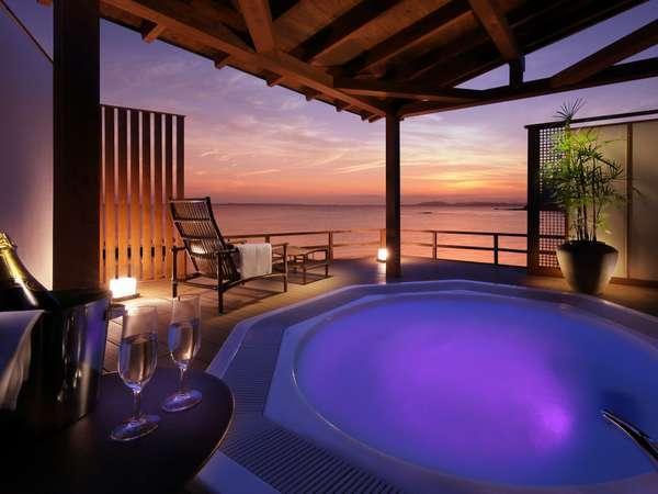 有料貸切露天風呂『海』をこのプランのみ無料でご利用頂けます。