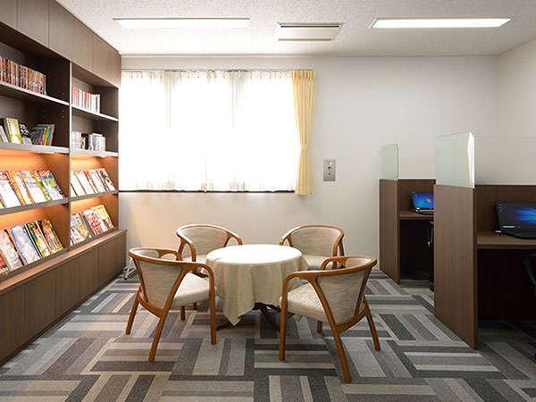 【のぐちビジネス文庫】読書・お仕事に最適な空間です。