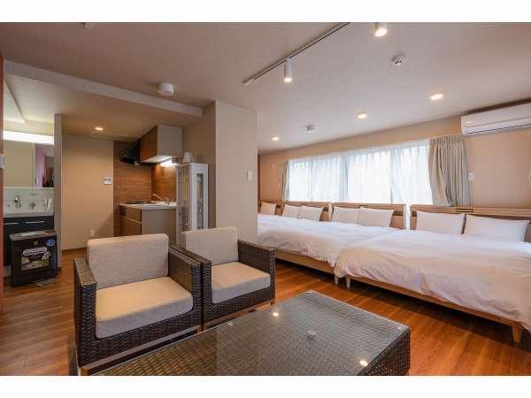 4ベッドルーム:リビング