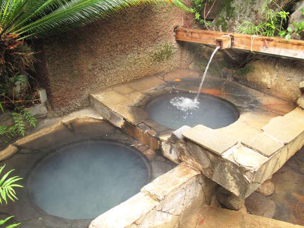 *【露天・五右衛門風呂】とっても雰囲気があり落ち着きます。