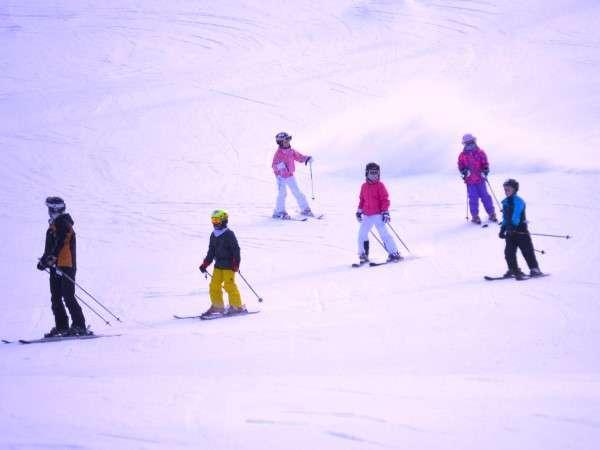 藤原スキー場が目の前!サラッサラなパウダースノーが皆様を待っています!