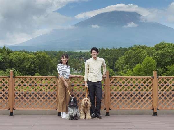 PANORANA GARDEN(屋上)で富士山バックに記念撮影してみませんか?