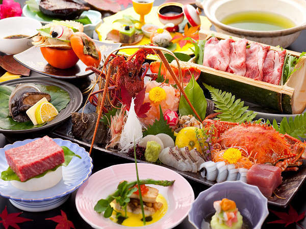 【鯉登苑(りとうえん)】【夕食・クチコミ 4.8点!】味で勝負!料理長自慢の会席料理♪