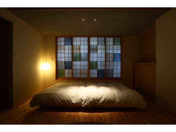 【かすみ】夜も美しい 障子のある寝室