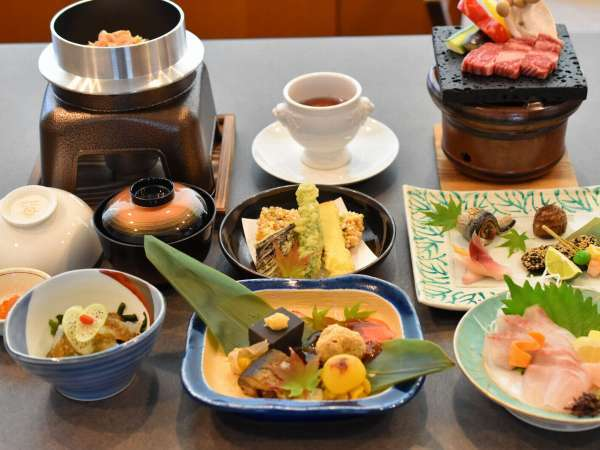 【温泉ホテル 温井スプリングス】リピーター続出!料理自慢のお宿 温井スプリングス