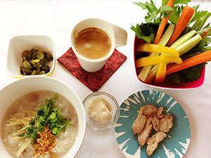 タイ式朝粥セット