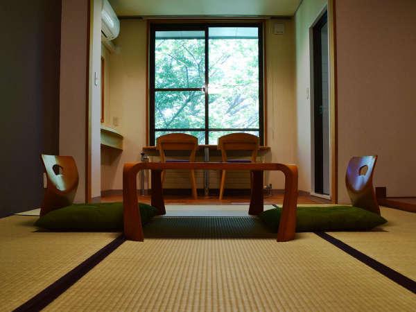 *[和室一例]豊かな自然を望める広縁を配したシンプルな造りの7.5畳の客室は落ち着いた和の雰囲気♪