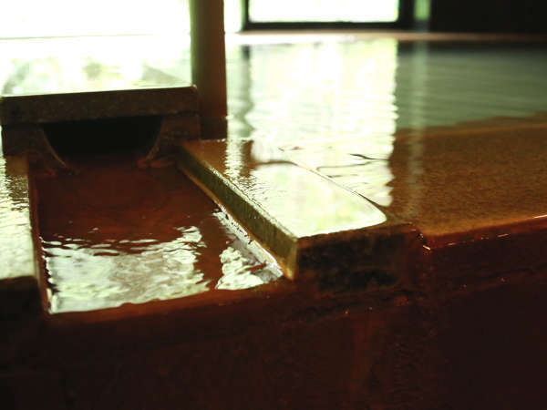 ★松の風呂。明治18年から親しまれてきた志太温泉をお愉しみください。
