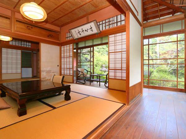 ★離れ香梅荘。今までお泊り出来ませんでしたが、創業120周年を迎えるにあたり、宿泊も可能になりました。