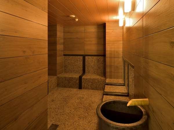 【ミネラルミスト浴】約30種のミネラルを含むミスト浴が楽しむことが出来ます