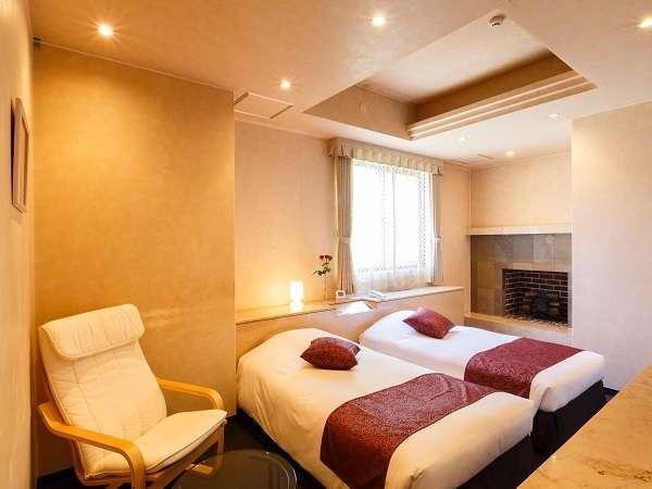デラックスツインルーム お部屋の広さは約35~49平米