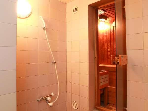 【デラックスツイン】サウナ付バスルームのお部屋もございます