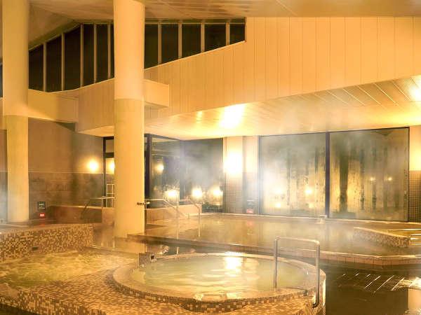 ■リニューアル 大浴場■自慢の『天然温泉』で、身も心も癒されるひと時を