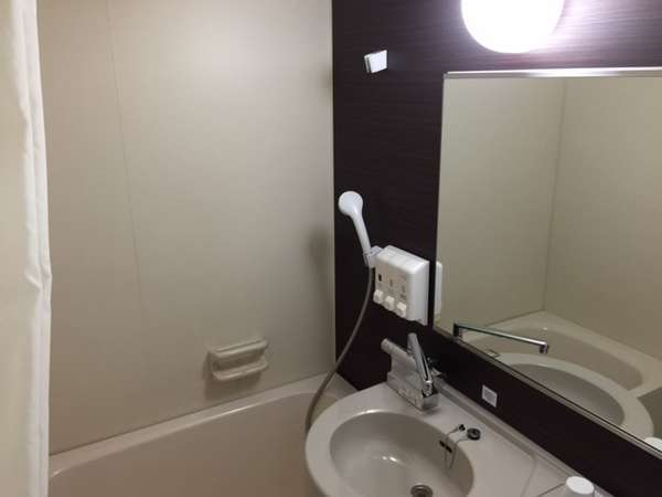 リニューアルで浴室もシックなイメージに生まれ変わりました♪