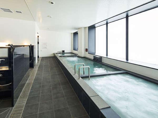 内湯2、水風呂1、サウナがございます ※男性側イメージ